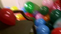 Filling our senior Pastor's office with balloons prank