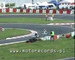 Kartingowe Mistrzostwa Polski - Radom 7 VI 2009 - wyścig ROK 125