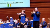 Drogheda Brass Band plays Traversada at the European Band Championships