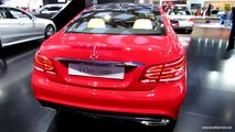 2014 Mercedes-Benz E550 Coupe - Exterior and Interior Walkaround - 2013 Detroit Auto Show