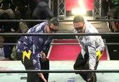 Kankuro Hoshino & Masato Inaba vs. Masaya Takahashi & Takayuki Ueki (BJW)