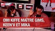 OMI kiffe Maitre Gims, KeenV et Mika - C'Cauet sur NRJ