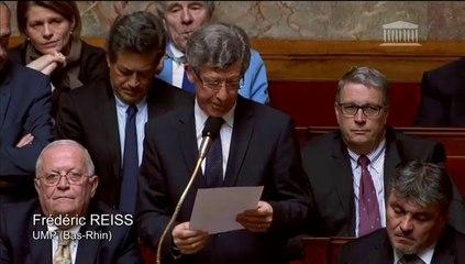 Frédéric Reiss - Réforme des collèges