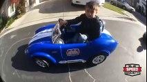 Cet enfant de 3 ans se croit dans Fast & Furious !