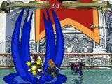 Mugen Kingdom Hearts : KH2 Sora, wisdom sora  vs KH2 Riku , mickey