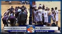 Basketball: El Camino Wildcats vs Rancho Buena Vista Longhorns