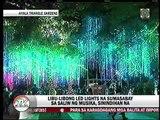 Sayaw ng mga ilaw sa Ayala Triangle Gardens