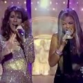 20 year old Beyoncé hit Celine Dion so hard with that high note