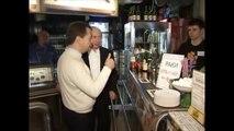 Putin and Medvedev at Lunch /   Медведев и Путин посетили пивной бар