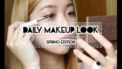 TUTORIAL: Daily Makeup for Spring