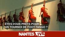 Etes-vous prêts pour un tournoi de foot-tango ?