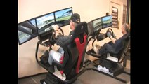 3DOF Racing Simulator - Test Drive (RacingCUBE) - video