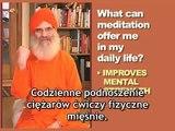 Korzyści, jakie daje medytacja - nauczyciel medytacji Ananda Margi, Dada Vedaprajiananda