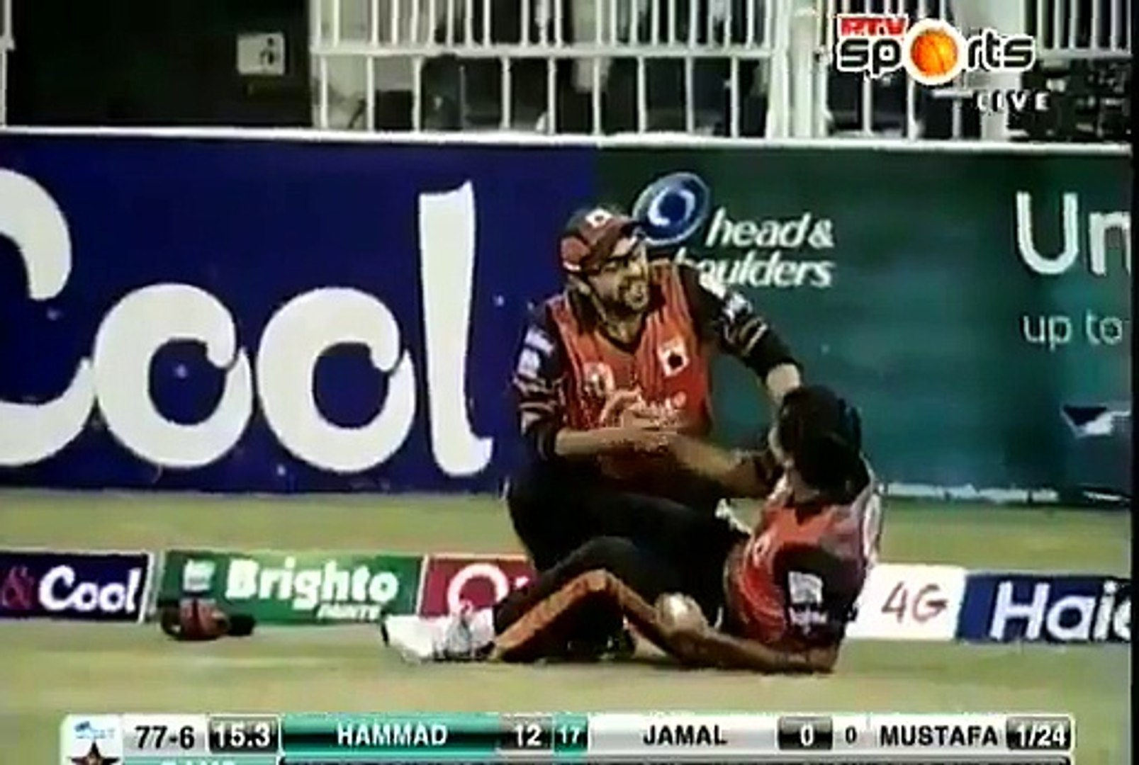 Nasir Jamshed Gona Crazy Catch After Taking Extreordinary Catch