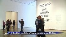 Yoko Ono, vedette d'une exposition au MoMA à New York