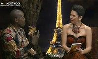 Sadio Bee Le meilleur styliste Africain de Paris invité sur la chaîne Vox Africa