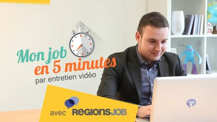 Selfie vidéo RegionsJob