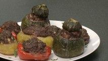 Recette de légumes farcis à la viande hâchée - Gourmand