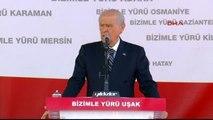 Uşak - MHP Lideri Bahçeli Partisinin Uşak Mitinginde Konuştu 2