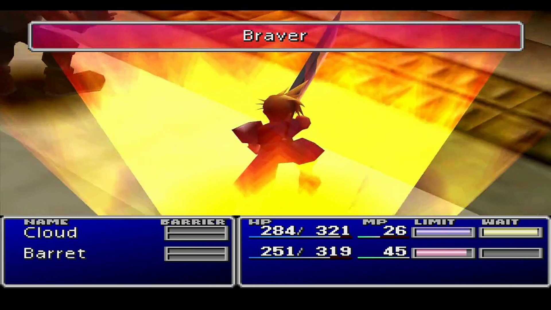 Final Fantasy VII Gameplay || ePSXe 1 7 0 || Pete's OpenGL 2 9 + Shaders  (HD)