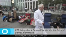 KFC Brings Back Colonel Sanders in the Form of Darrell Hammond