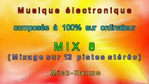 """MUSIQUE ELECTRO - MIX  8  """" VOYAGE DANS L' ESPACE """""""