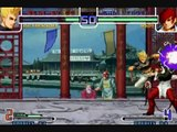 the best combos kof 2002