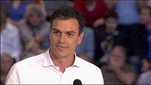 """Sánchez: """"Cada engaño de Rajoy es una razón para mandar al PP a la oposición"""""""