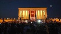 17 Yıl Sonra İlk Kez Anıtkabir'de Konser Verildi