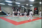 GrandMaster Lee Kyu Hyung and Keimyung University Team training with Master César Valentim