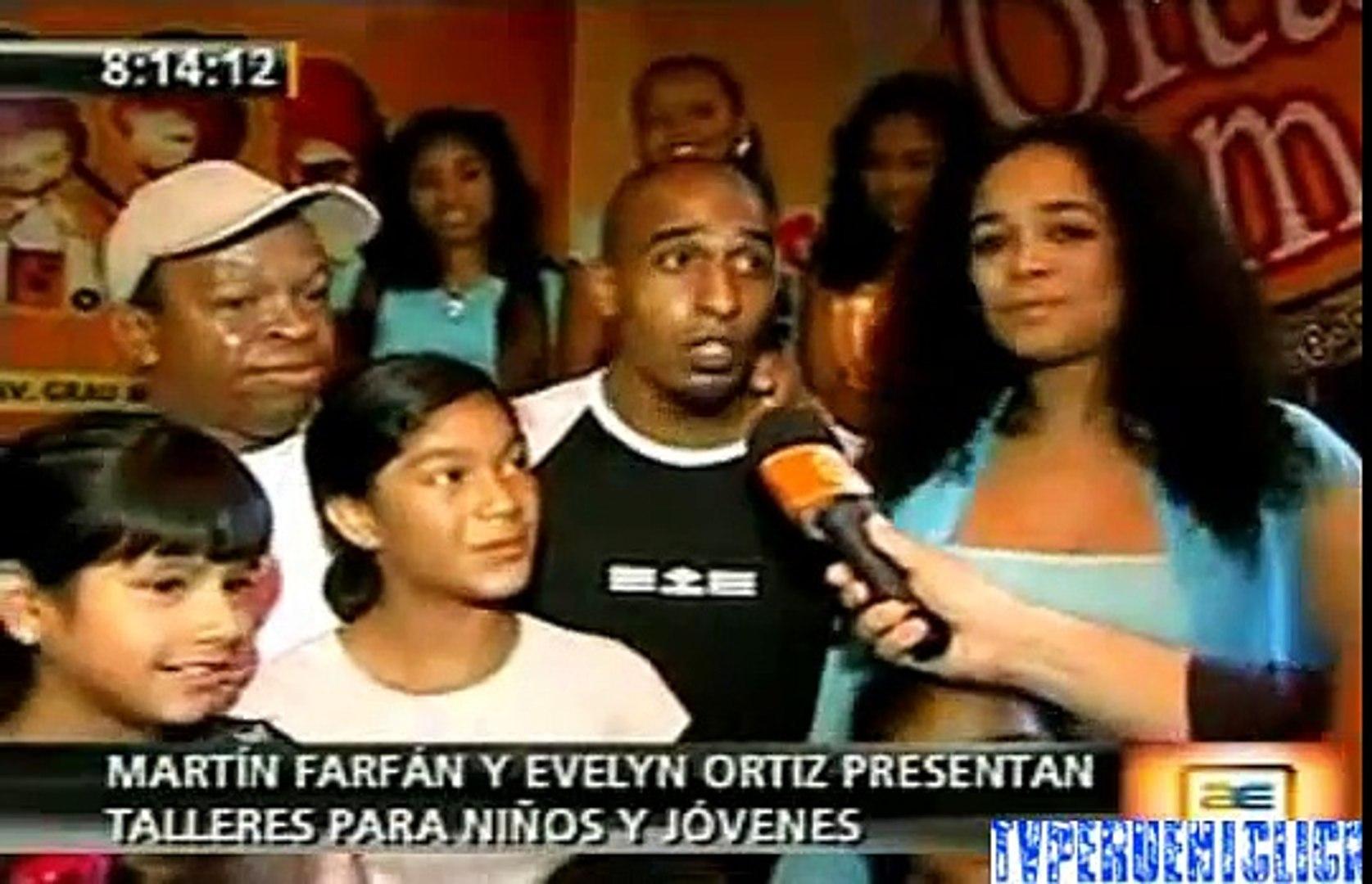 AMERICA ESPECTACULOS 16-02-2010 MATIN FARFAN Y EVELYN ORTIZ PRESENTAN TALLERES PARA NINOS