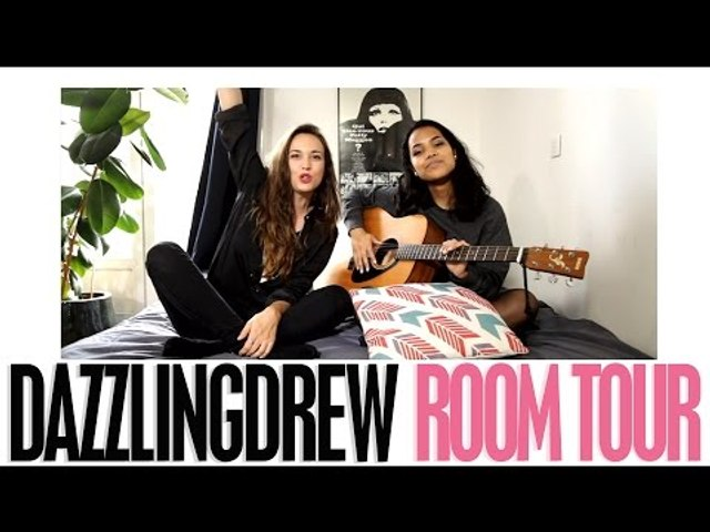 ROOM-TOUR / with Dazzling Drew !