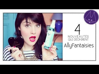 AllyFantaisies - 4 nouveautés qui déchirent