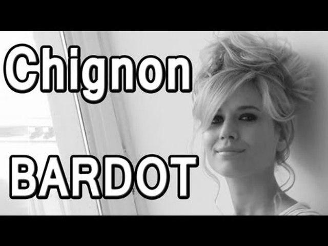 Chignon Brigitte Bardot : tuto pro