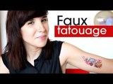 Je VEUX un tatouage... Mais j'ai peur d'avoir mal.
