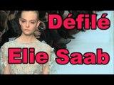 Défilé Elie Saab : secrets maquillage et coiffure