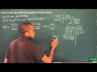 398 / Proportionnalité / Calcul de pourcentage (8)