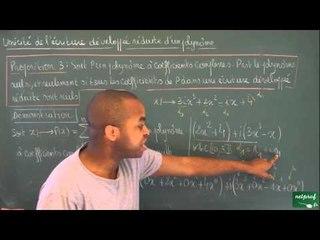 AFY / Sommes et produits - Polynômes / Polynôme nul dans C[X] (BCPST)