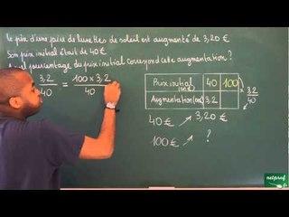 393 / Proportionnalité / Calcul de pourcentage (3)