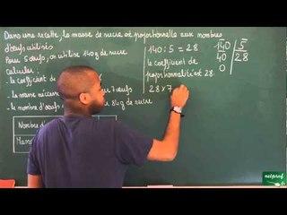 388 / Proportionnalité / Situation de proportionnalité (2)