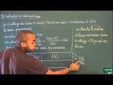AEC / Proportionnalité / Calcul de pourcentage