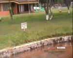 Pozo de aguas termales en Baños del Inca-  Cajamarca
