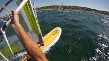 Windsurf freeride à Hyères, spot de la Madrague