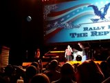 Amie Allen at Rally for the Rplc: Ron Paul Revolution Song