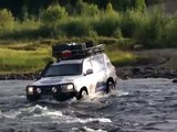 EXTREM RIVER CROSSING SIBIERIA - TOYOTA LAND CRUISER 200 V8