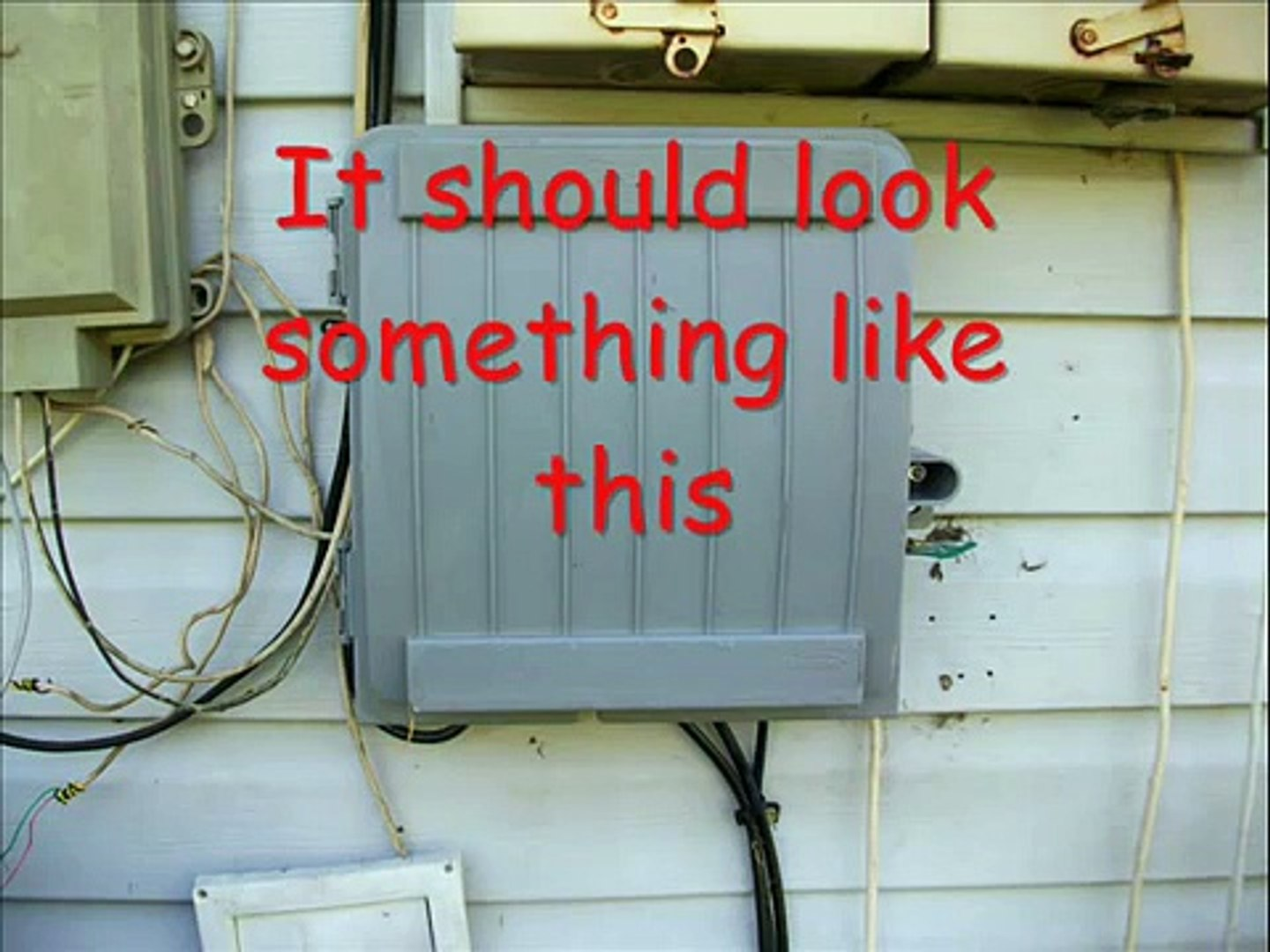 Outside Electrical Wiring