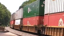 Norfolk Southern 21R Westbound Intermodal in Mableton,Ga 06-19-2010© (16x9)