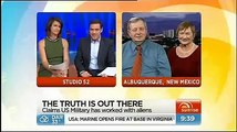 Charles Hall on the Tall Whites - aliens - March 23 2013 - Australian TV