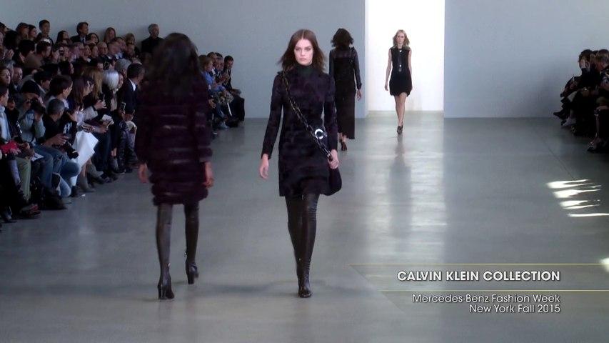 CALVIN KLEIN COLLECTION Mercedes-Benz Fashion Week New York Fall 2015