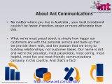 Cheap ADSL Broadband Deals Sydney   1300 268 266   Ant Communications